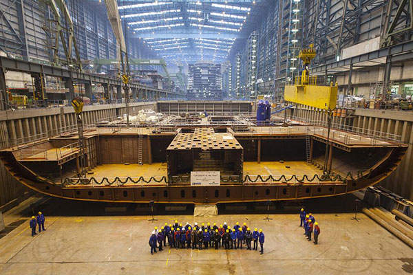 Udachny is one of the deepest open-pit mines in the world.