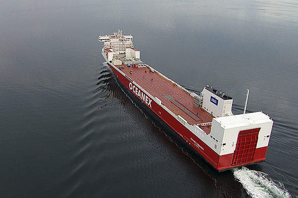 Mining activity at the Hera deposit began in September 2014. Image courtesy of PYBAR Mining Services.