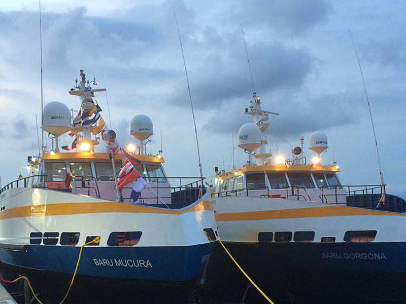 Gold mineralisation at the Natougou deposit is predominantly hosted in a flat lying shear zone. Image courtesy of SEMAFO.