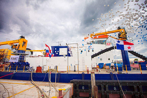 The grinding circuit at Nullagine includes a single stage 4,000kW Semi Autogenous Grinding (SAG) mill in closed circuit with hydrocyclones. Image courtesy of Millennium Minerals.