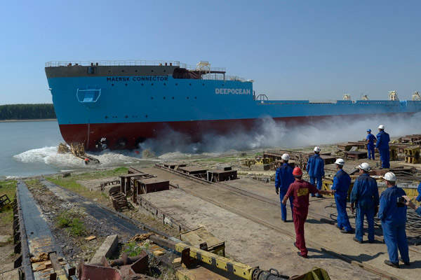 Trial mining at the Gross deposit began in April 2014. Image: courtesy of Nordgold.