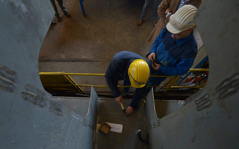 The construction of the site office for the Kalgoorlie North Gold Project. Image: courtesy of Excelsior Gold.