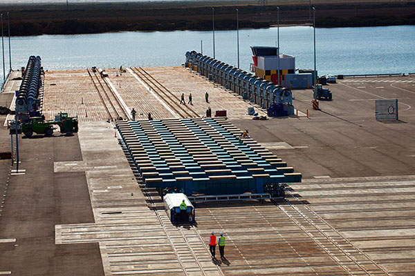The mine is spread over 3,860ha of area.