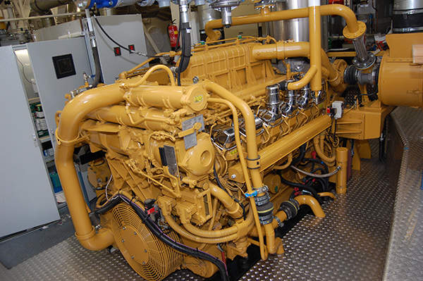 The jaw crusher and motor control centre inside the mill. Image courtesy of Sutter Gold Mining.