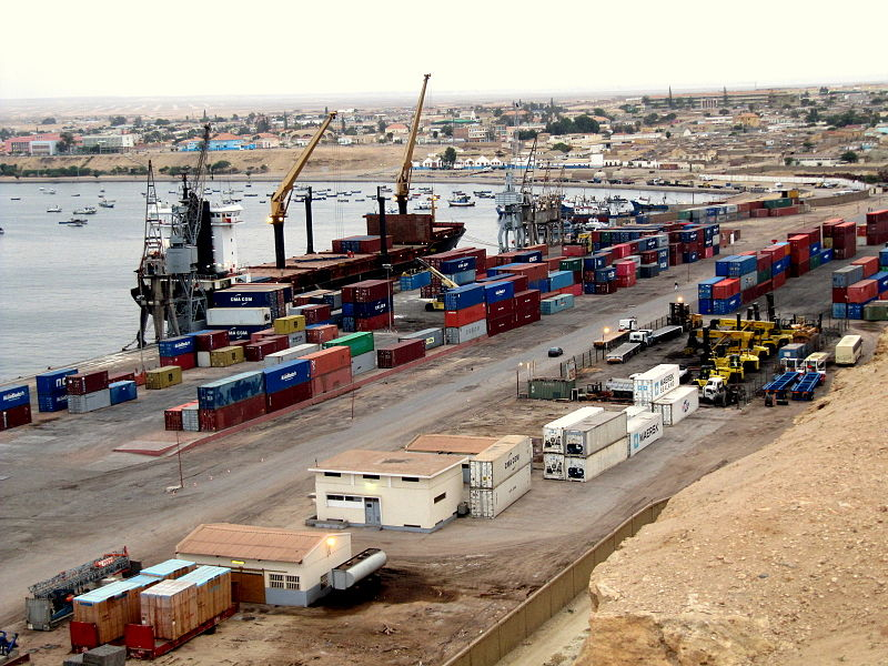 Namibe Port, Angola