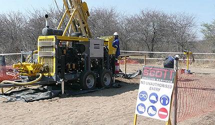 Boseto copper mine Botswana
