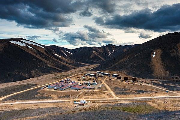 Dvoinoye Gold Mine, Chukotka
