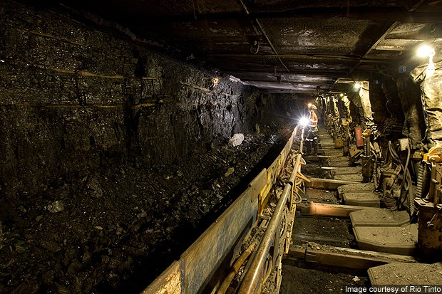 Kestrel Mine, Central Queensland