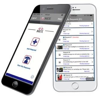 MEX iOS app