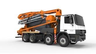 MK25H truck mixer