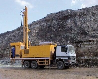 blast hole rig