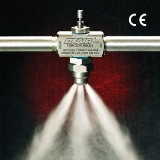 exair atomising nozzle