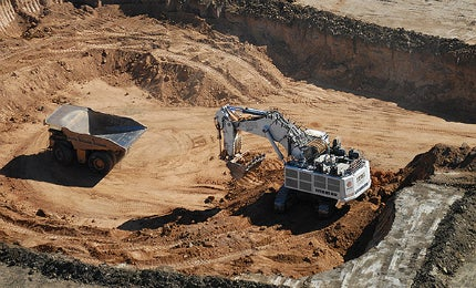 Open pit operations at the Mount Margaret Mining Project