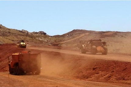 mining activities at Mt Dove commenced in November 2012.