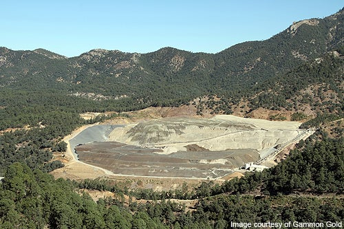 AuRico Gold has sold the Ocampo mine to Minera Frisco