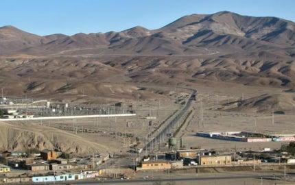 Chile's Santo Domingo mine project.