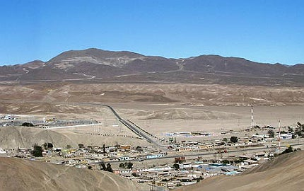 Santo Domingo copper-iron-gold mine.