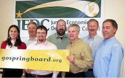 SpringBoard team members.