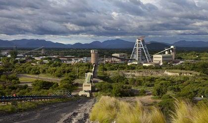 The Tumela mine.