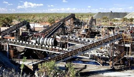 Ellendale Diamond Mine, West Kimberly