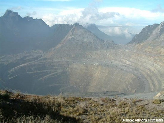 Freeport to resume Indonesia open-pit mining operations