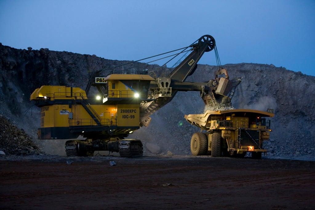 iron ore shipped