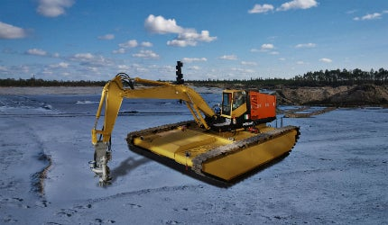 Dragflow Amphibious Dredge