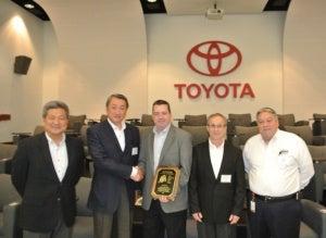 Ecco Group Toyota award