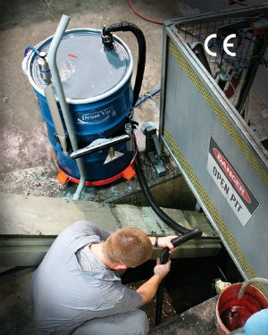 High Lift Reversible Drum Vac