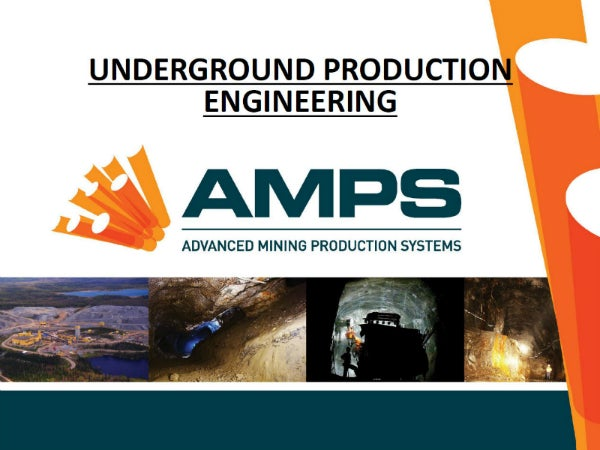 Advanced Mining Production Systems AMPS