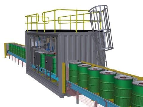 Drum Packing Modular Plant