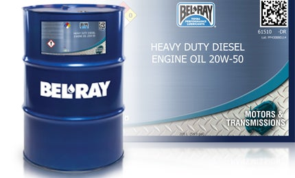 Heavy-Duty Diesel Engine Oil