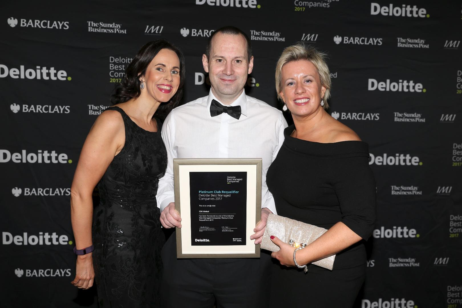 CDE named Best Managed Company by Deloitte for tenth year in a row