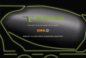 Energya 9 hybrid truck mixer