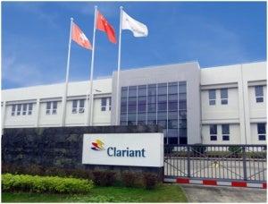 Clariant's Guangzhou plant.