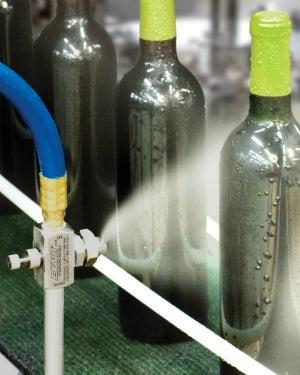 External mx spray nozzles