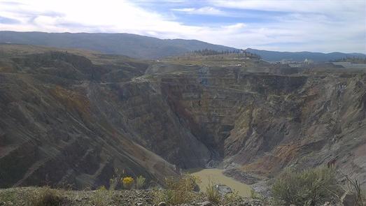 DAMM gold mine canada
