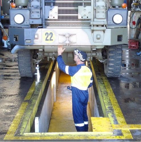 warehouse pit maintenance
