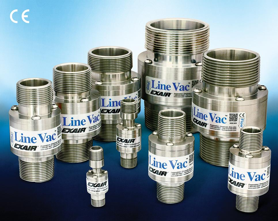 316 stainless steel threaded line vac