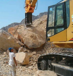 Fractum Rock Breaker