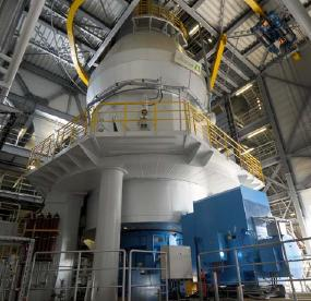 Similar mill type LOESCHE cement mill type LM 46.2+2, Duisburg, Germany