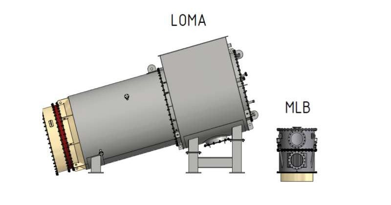 LOESCHE LOMA® heater and MLB burner