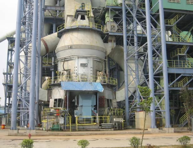 LOESCHE mill type LM 60.4, Guangzhou, China