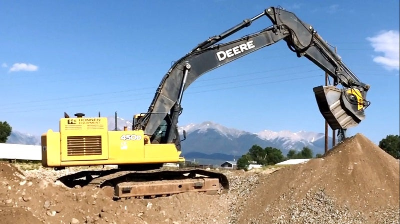 Avalanche excavating