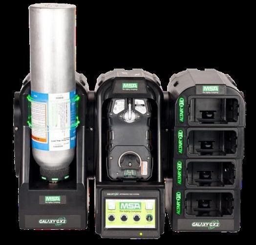 Galaxy GX2 gas detection system.