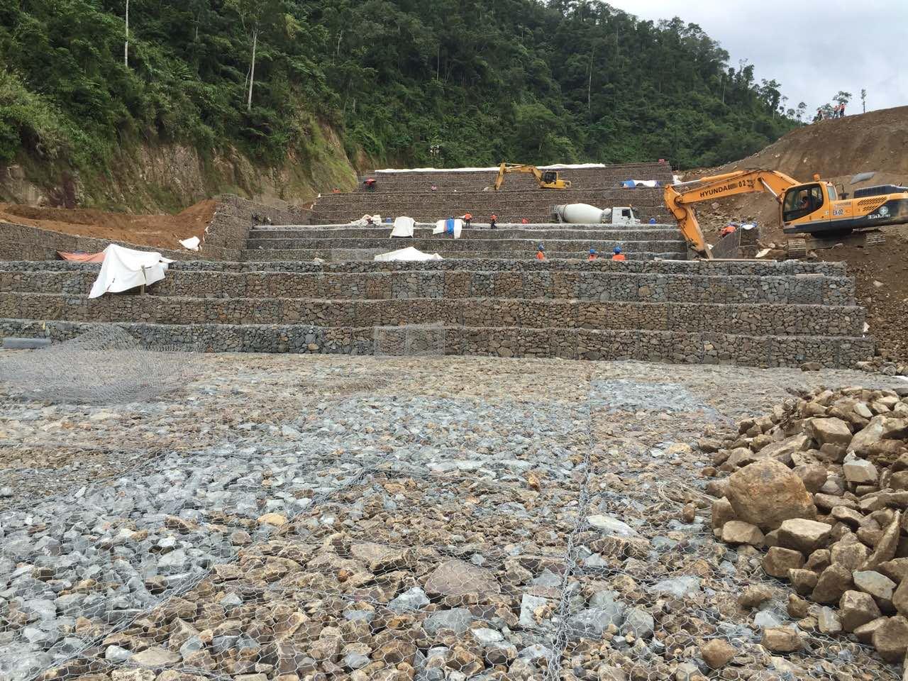 Hydraulic Spillway Structure in Nueva Vizcaya