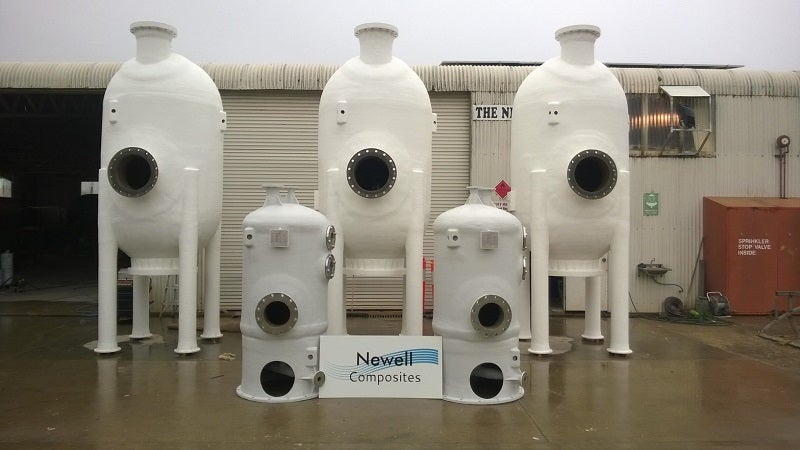 iron removal filter pressure vessels