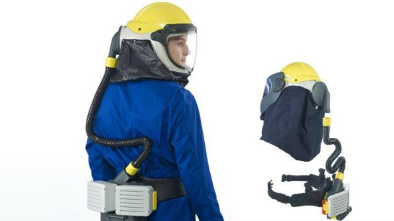 Airfow respirator equipment