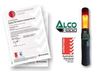 Full certification for ALCORapid