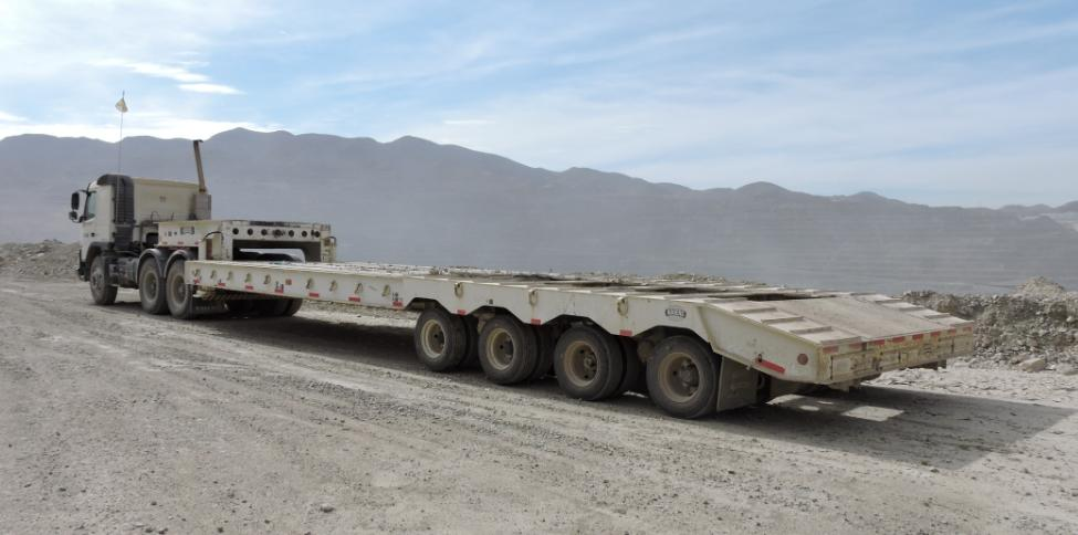 Fixed Gooseneck 85t Trailer